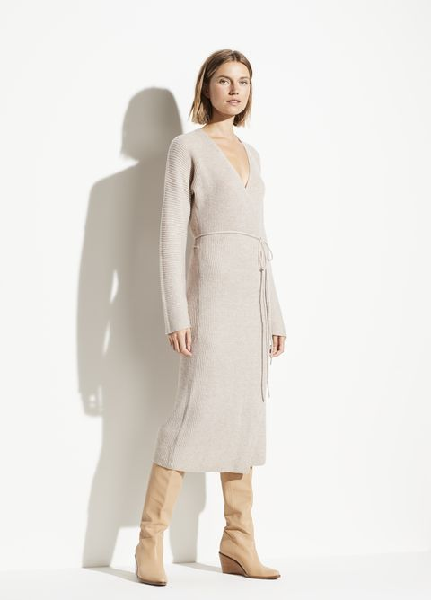 Clothing, White, Shoulder, Dress, Standing, Outerwear, Joint, Fashion, Neck, Knee,
