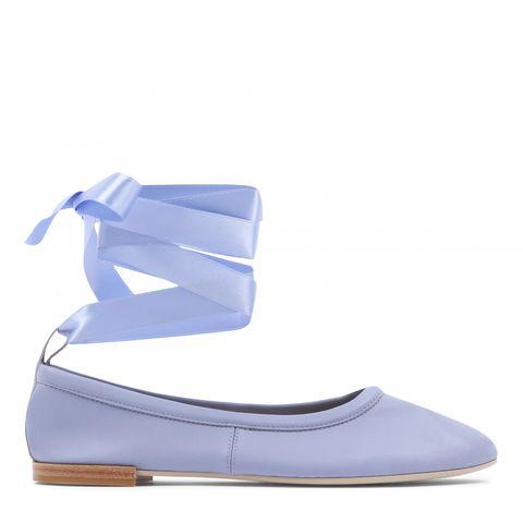 repetto blue ballet flat shoes ballerina