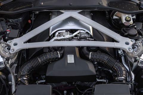 Vehicle, Car, Auto part, Engine, Luxury vehicle, Personal luxury car, Rim,