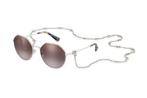 occhiali da sole con catena