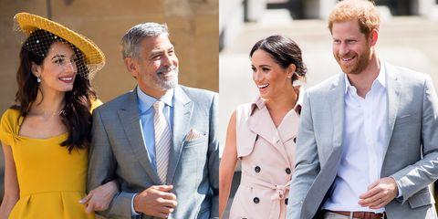 George Clooney Amal Clooney Royals