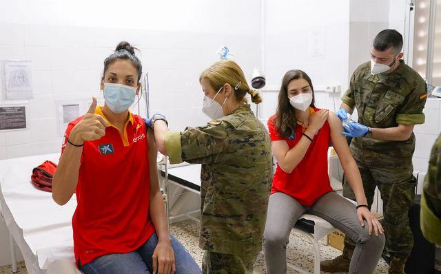 vacunación deportistas olimpicos españoles