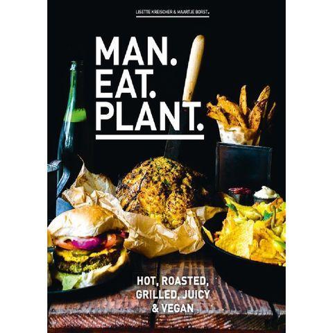 man eat plant vegan kookboer bbq