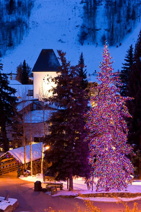 vail co christmas towns