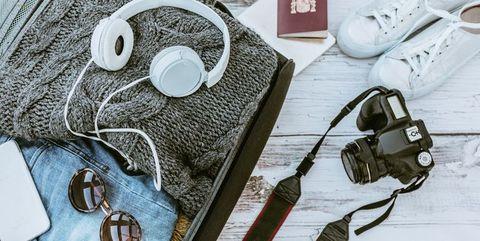 Vakantie checklist koffer inpakke