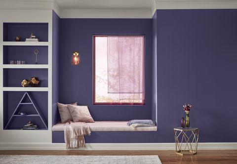 Purple Paint Colors >> Valspar's 2019 Colors Of The Year Announced - 2019 Paint ...