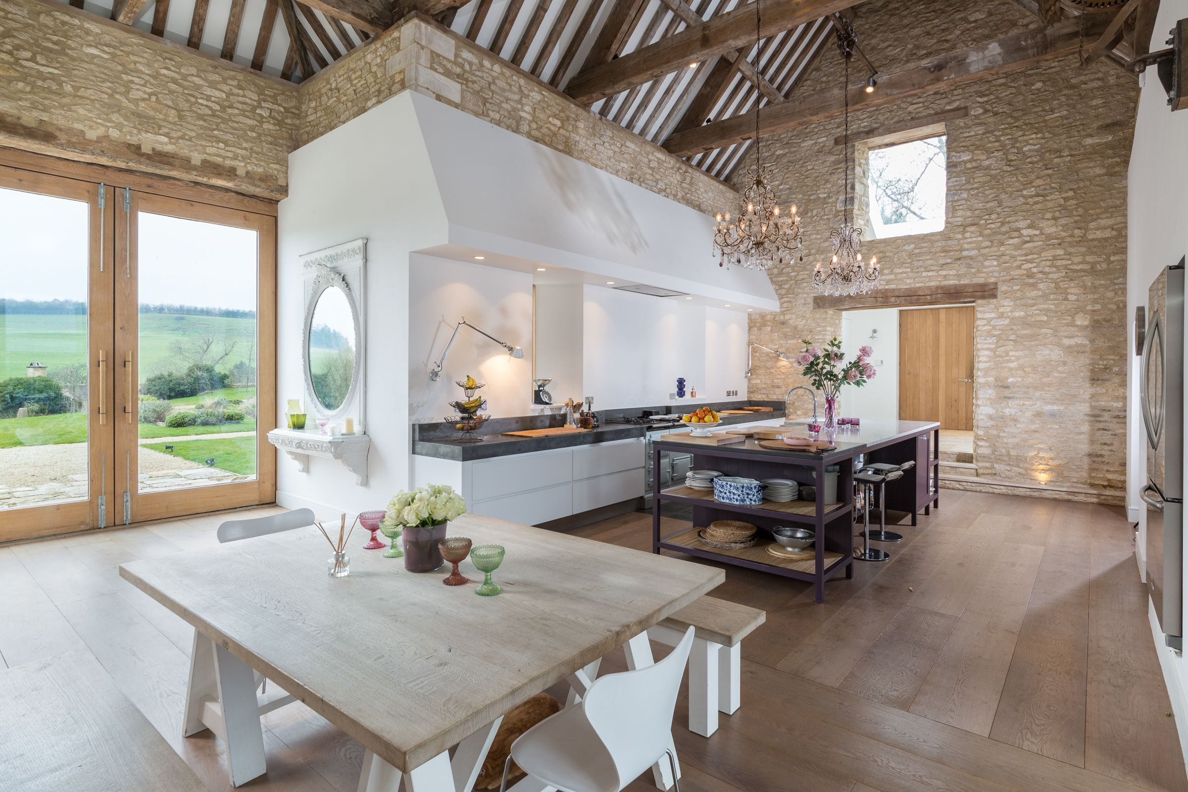 Barn Conversion In The Cotswolds Has Most Spectacular