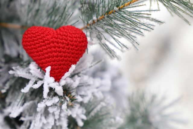 concept of romance, new year celebration, valentines day or winter weather