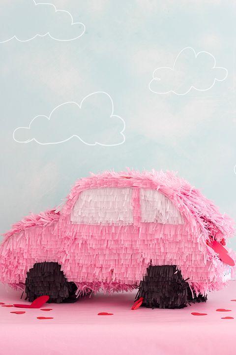 valentine boxes - car trunk