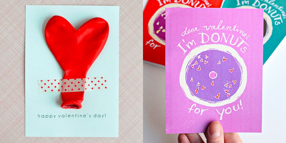 41 Cute DIY Valentine's Day Cards - Homemade Card Ideas ...