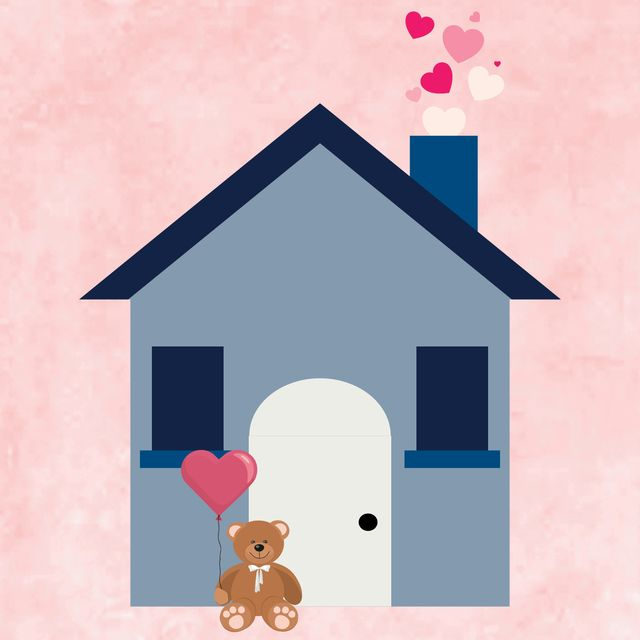 valentines day house