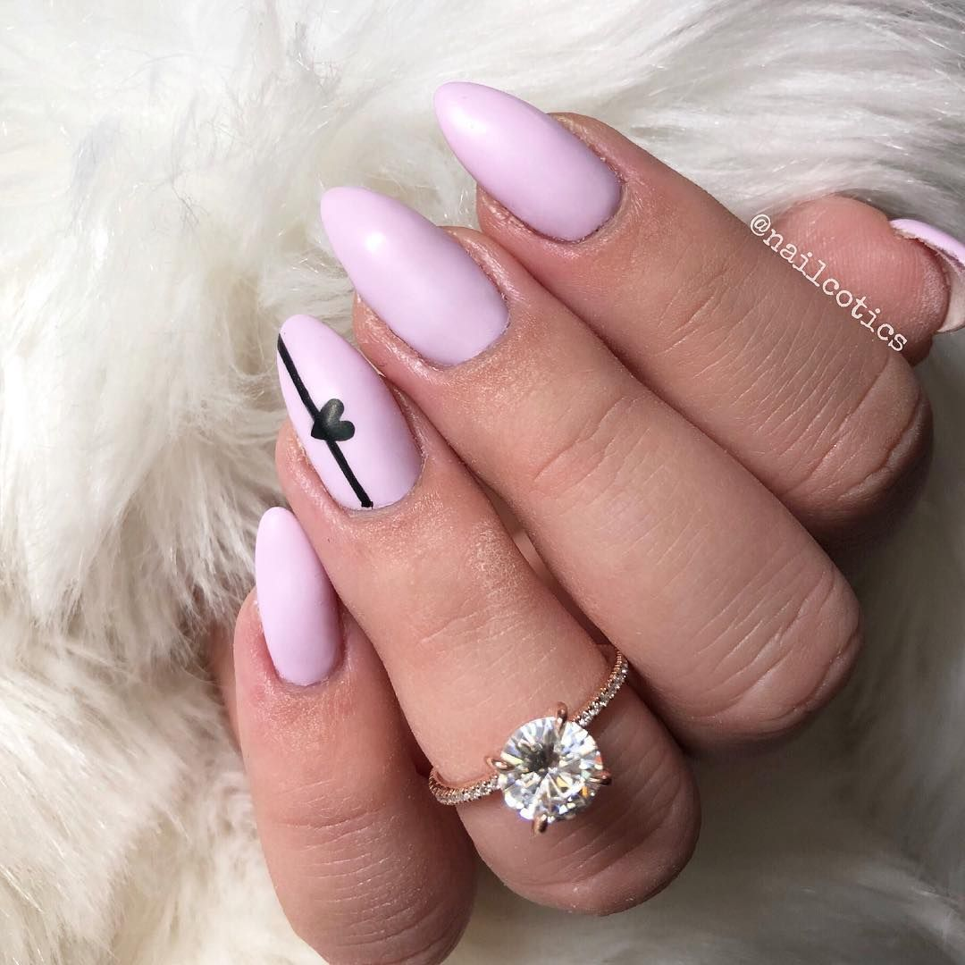 valentine nail designs engaged