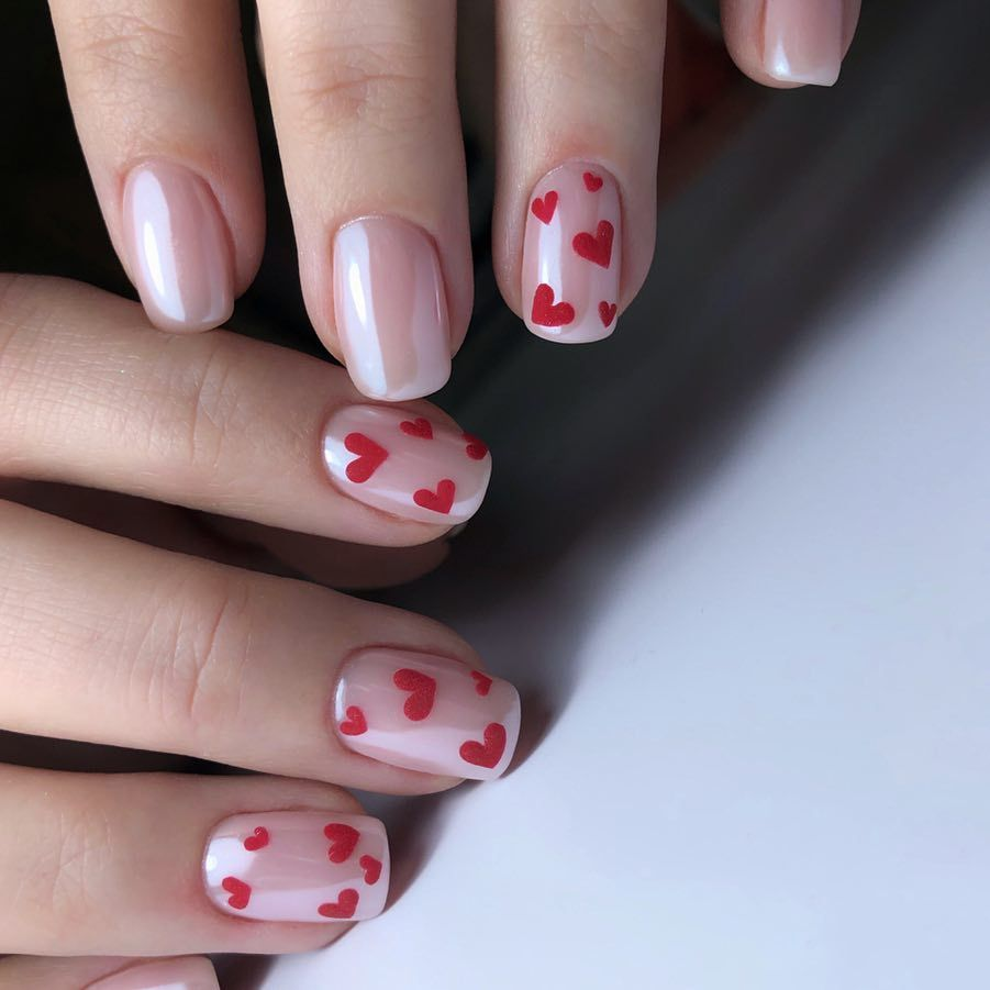 25 Lovely Valentine Nail Designs Pretty Manicure Ideas