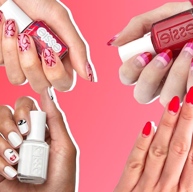 Nail, Nail polish, Manicure, Nail care, Skin, Finger, Cosmetics, Pink, Hand, Service,