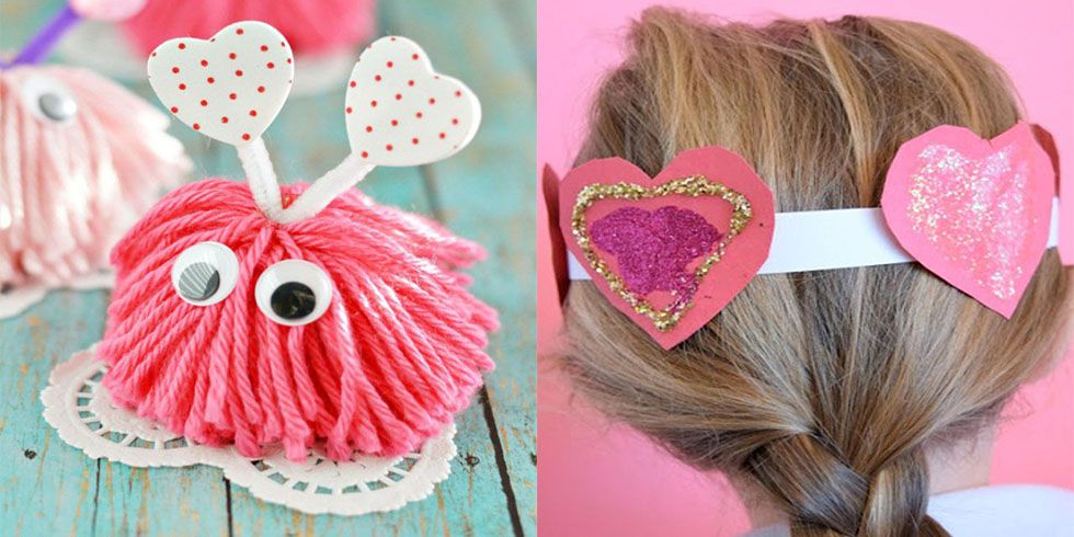 28 Valentine S Day Crafts For Kids Fun Heart Arts And