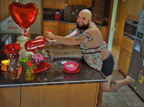 valentine's day dudeoir photo shoot