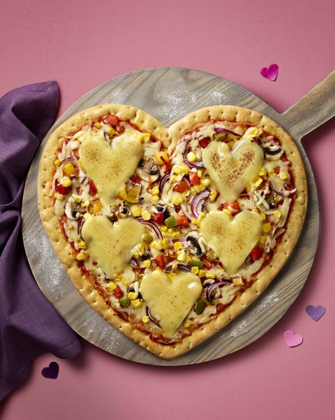 Asda Is Selling 3 Heart Shaped Pizzas For Valentines Day