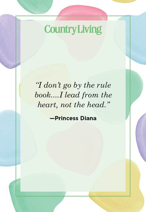 princess diana valentine's day quote