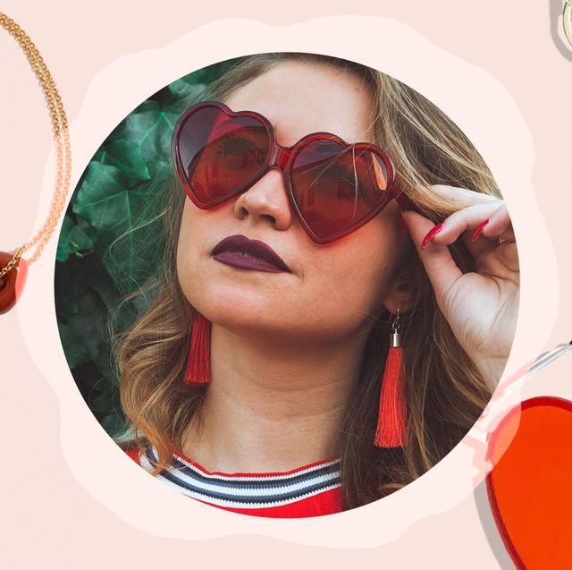 heart bracelets, sunglasses and keychain