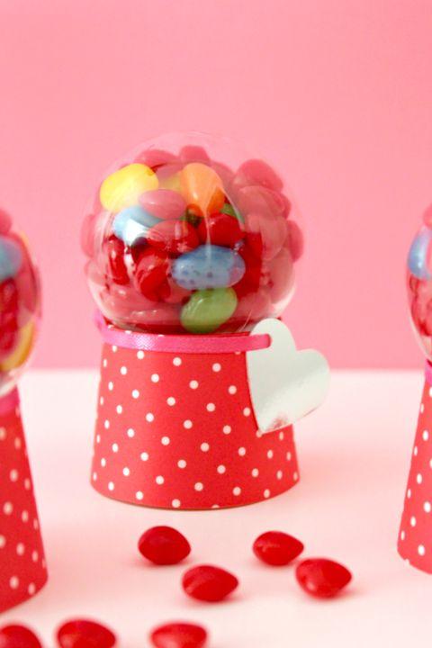 valentine's day crafts for kids candy dispenser