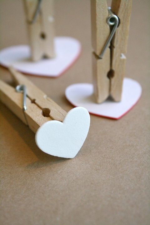 valentines crafts for kids heart stamp clothespin