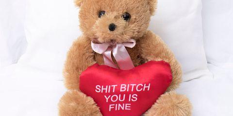 Stuffed toy, Teddy bear, Toy, Plush, Valentine's day, Love, Heart,