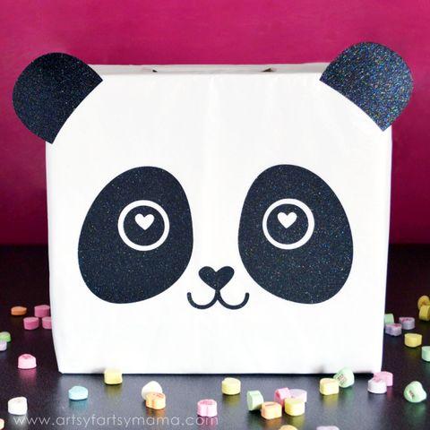 valentines day boxes panda