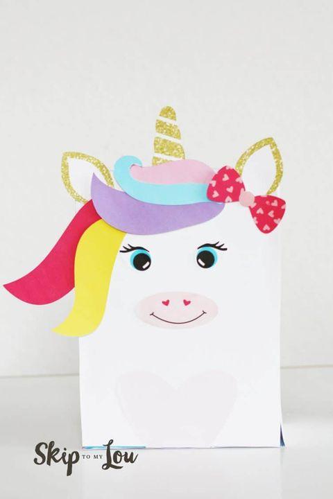 valentines day boxes unicorn
