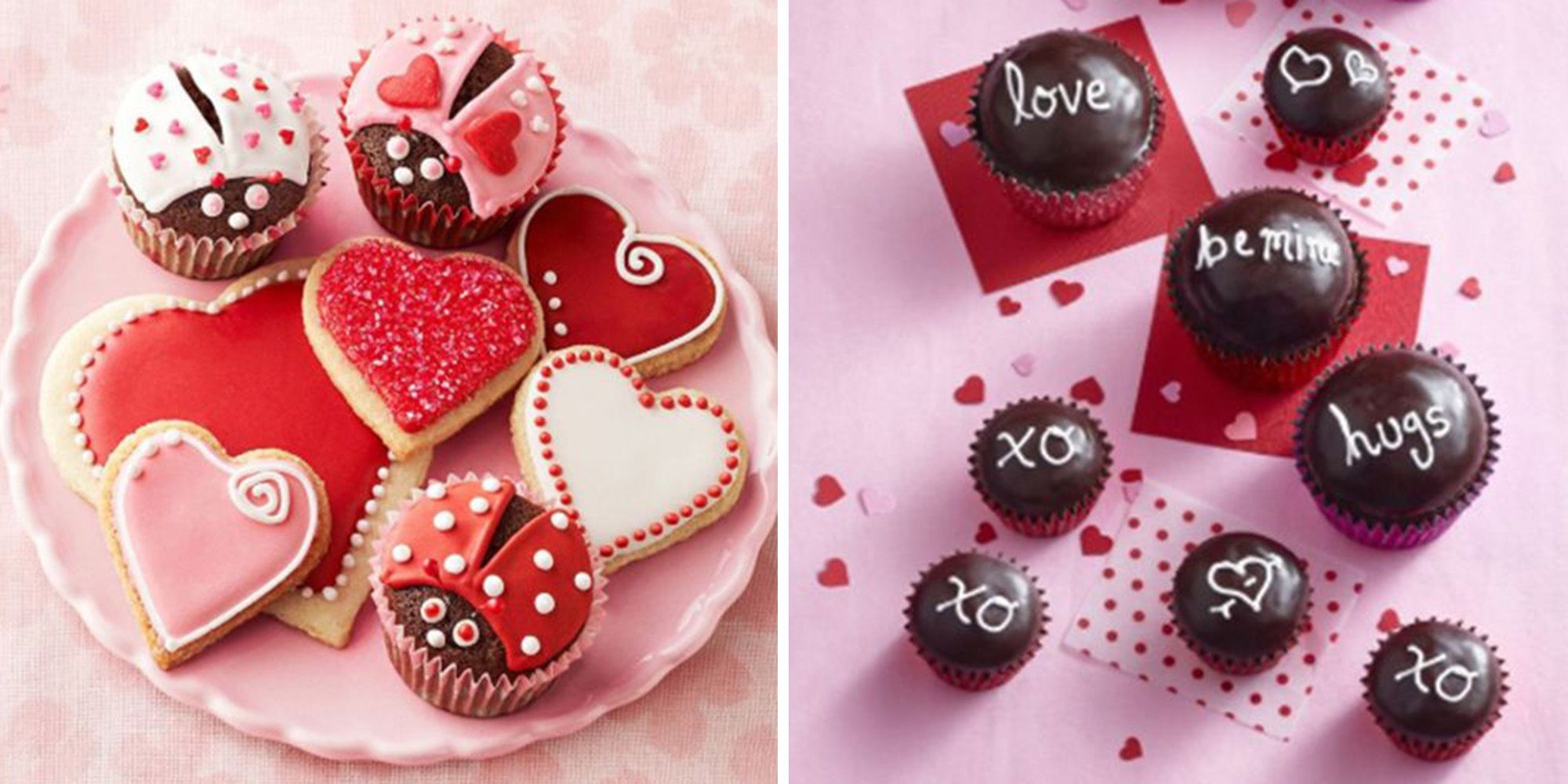 Magnificent 39 Valentines Day Cupcakes And Cake Recipes Easy Valentines Birthday Cards Printable Inklcafe Filternl