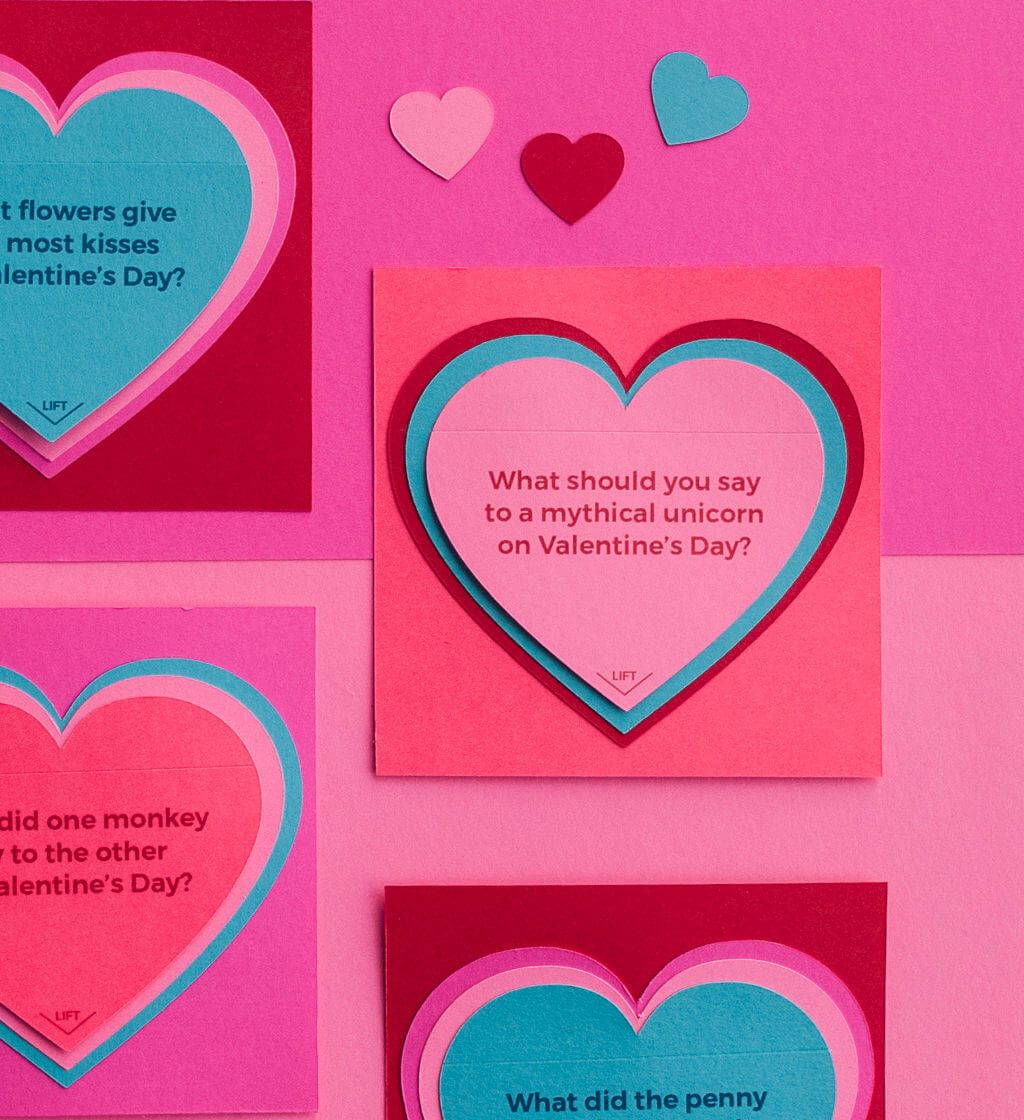 Heart Cards Valentine Cards-Set of 8 Unique Cards DIY Add A Word