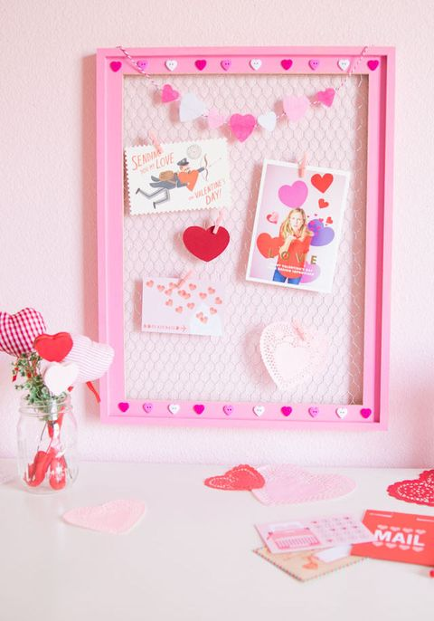valentines day card display