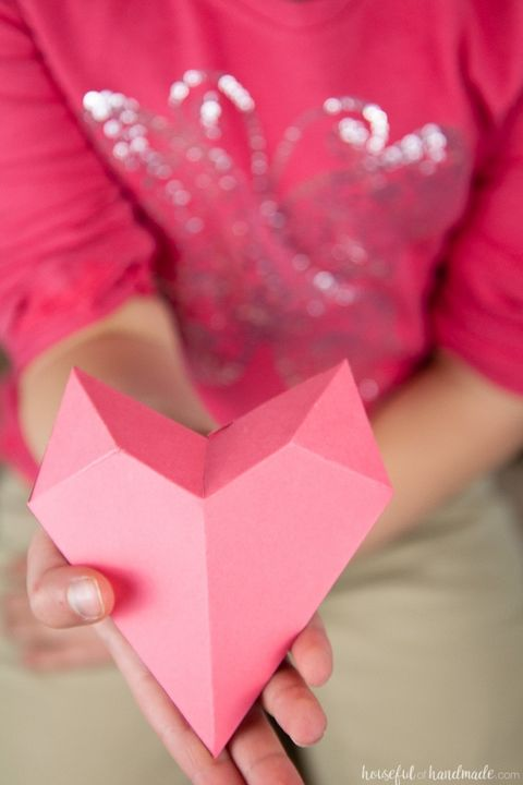 valentines day crafts for kids 3d heart