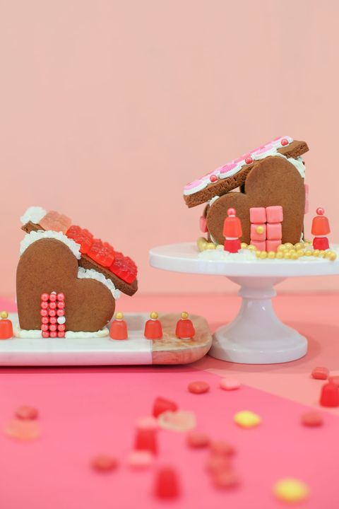 valentines day crafts for kids gingerbread house