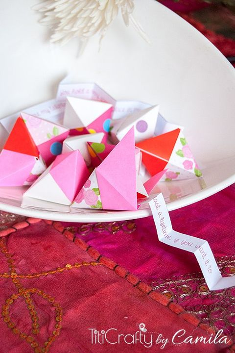 valentines day crafts for kids origami fortune cookies