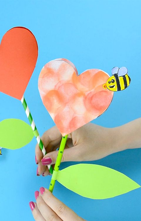 Heart, Play, Paper, Construction paper,