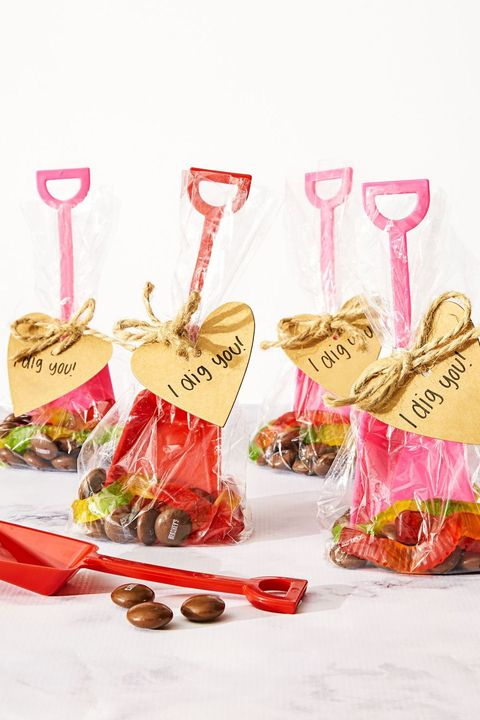 i dig you valentines treat bags
