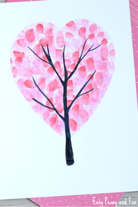valentines day crafts kids tree