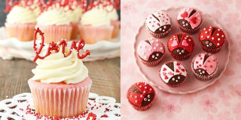 30 Cute Valentines Day Cupcakes Easy Cupcake Recipes To