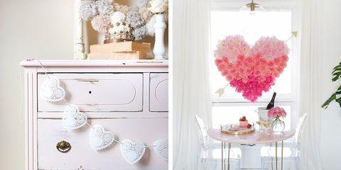 20 DIY Valentine\'s Day Decorations - Best Homemade Decorating Ideas ...