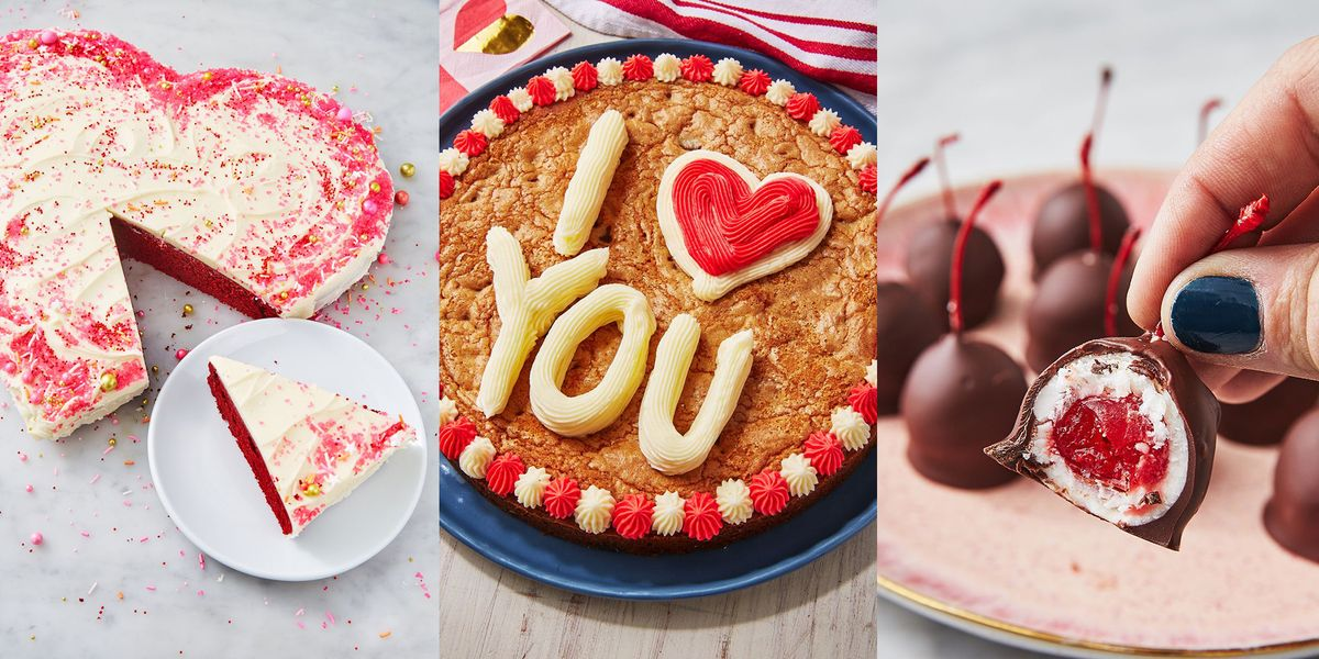 Valentine's Day Desserts That Are Way More Original Than A Bunch Of Flowers