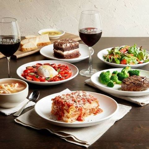 valentines day dinner delivery carrabba's