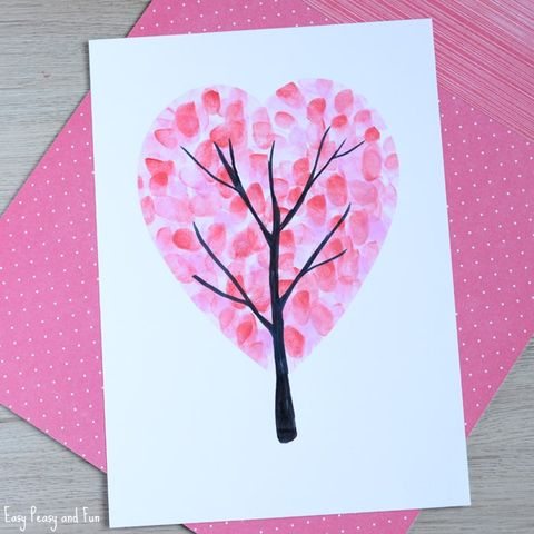 valentines day handprint crafts