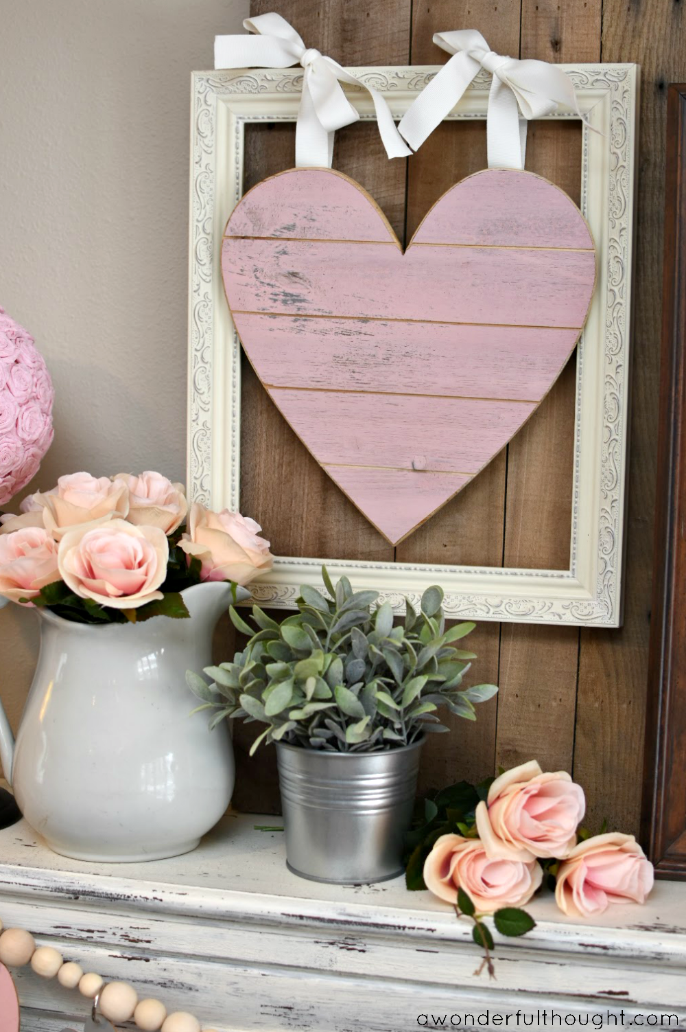 20 Sweet And Simple Diy Valentine S Day Decorations Valentine Decor