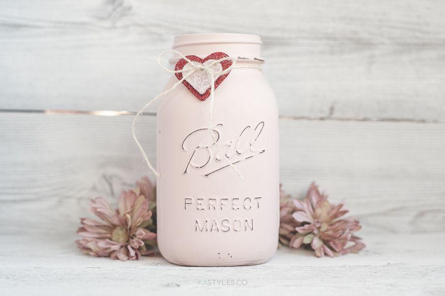 30 Best Valentine S Day Mason Jars Diy Valentine S Day Mason Jar Craft Ideas