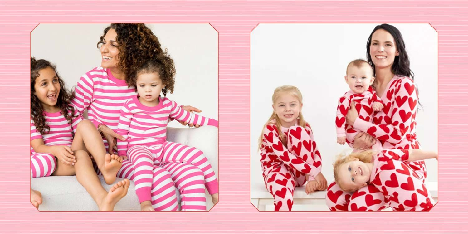 25 Best Valentine's Day Matching Pajamas for the Whole Family