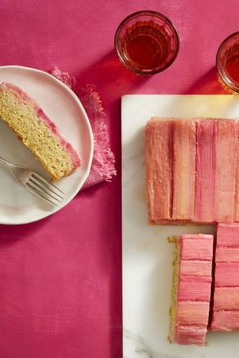 valentines-day-recipesrhubarb-almond-upside-down-cak