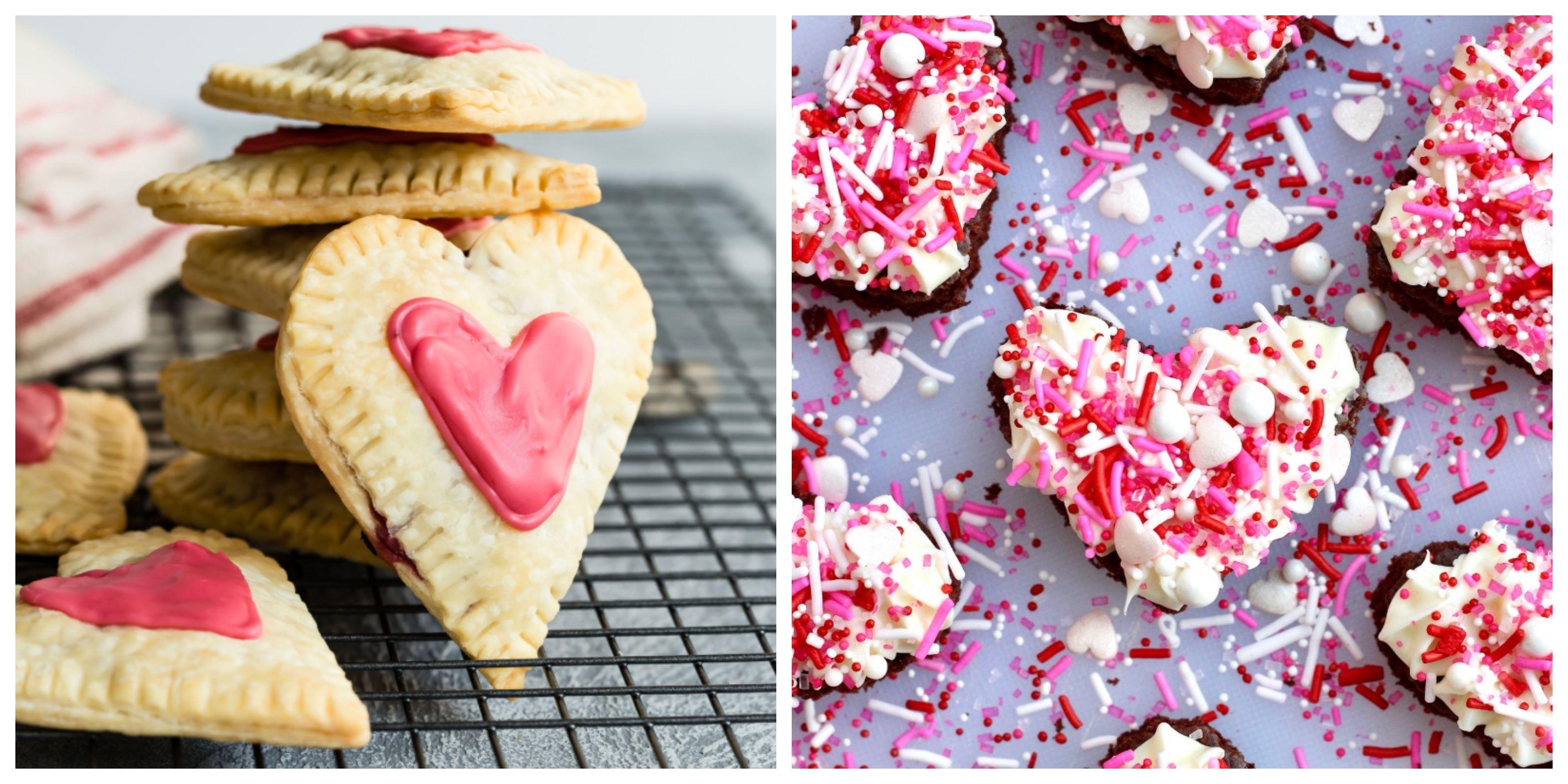 35 Best Heart Shaped Cookies Desserts Valentine S Day Treats