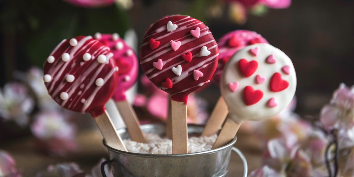 40 Best Valentines Day Treats Heart Shaped Desserts For