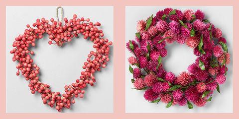 valentine's day wreath ideas