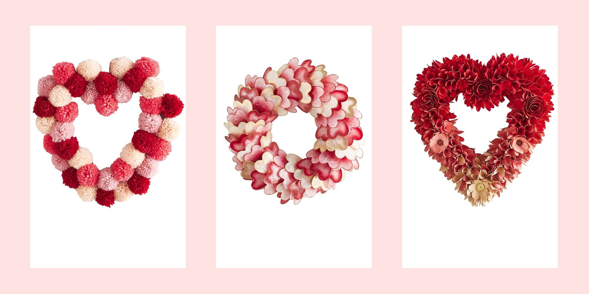 Valentine Wreath Ideas 20 Valentine S Day Wreaths Valentine Wreaths